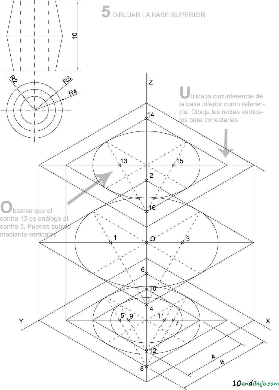 Pin En Circunferencia En Isometrico