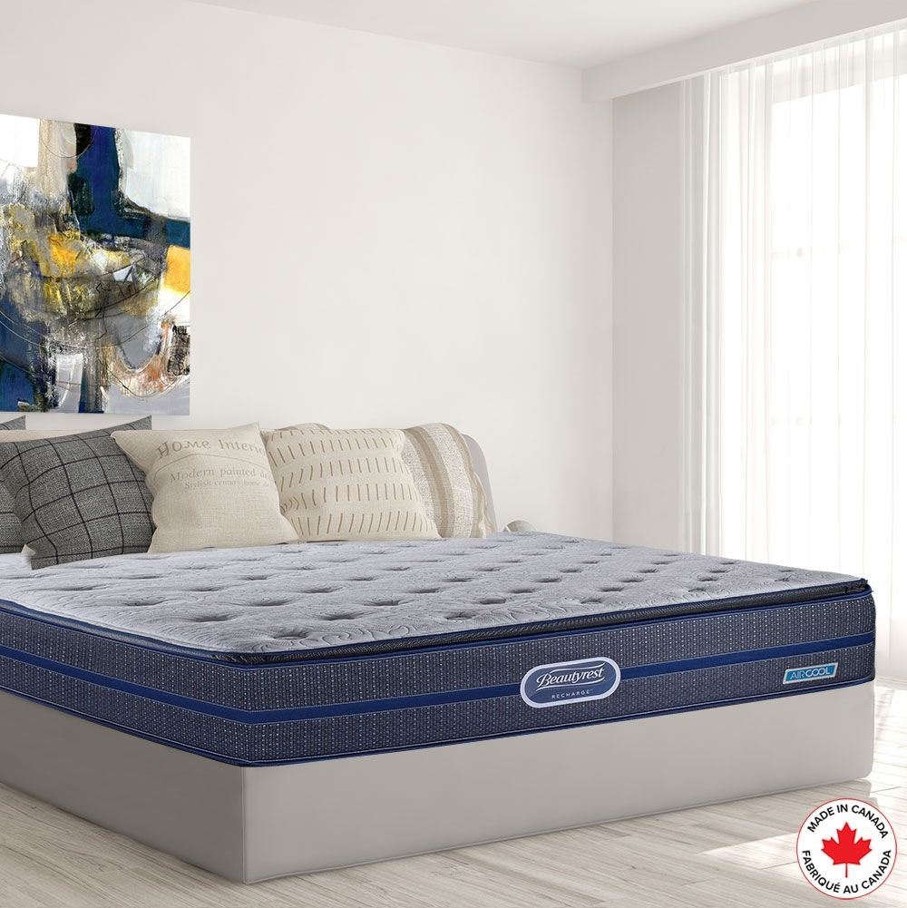 Simmons Beautyrest Recharge Governor Mattress Boxspring