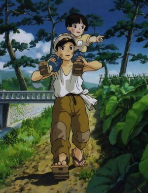 Grave of the Fireflies...I can only HIGHLY suggest that this be viewed if you haven't seen it.