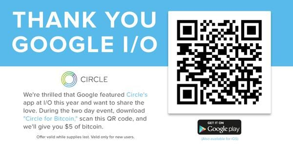 Score 5 in FREE Cash when you download the Circle app on