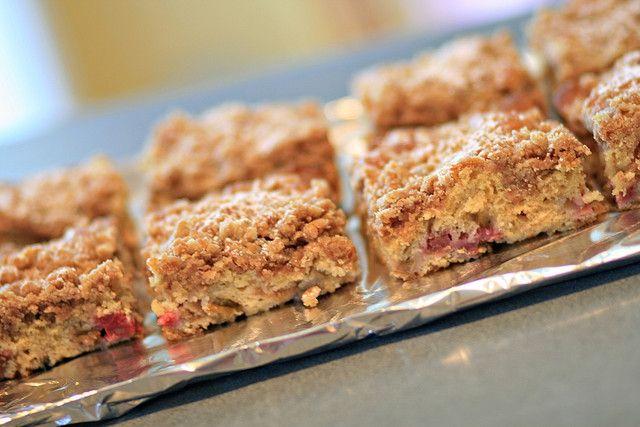 Rhubarb coffee cake - 9 by Sugarcrafter, via Flickr