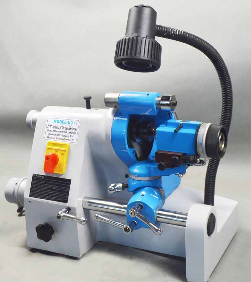CE 220V U3 R8 Collets Universal Cutter Grinder Drill
