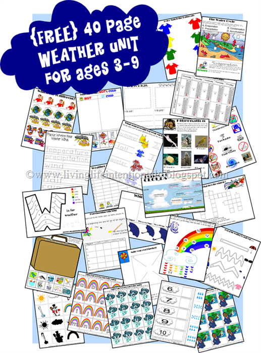 FREE Science Weather Worksheets for Kids | Pinterest