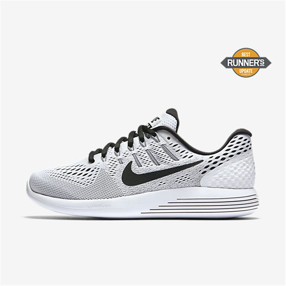 Nike LunarGlide 8 (White / Black