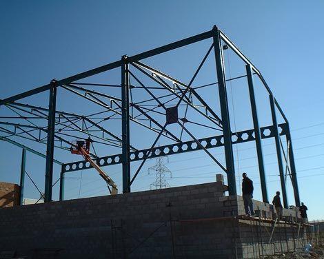 Forjado estructura metalica awesome la estructura de for Forjado estructura metalica