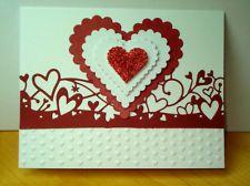 Stampin Up Handmade Greeting Card Kit Valentine Card