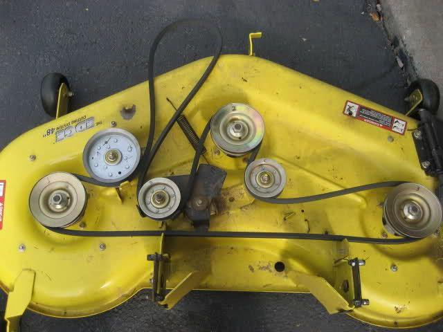 John Deere Tractor Deck Belt Diagram : John deere l pto belt routing diagram lawn mower