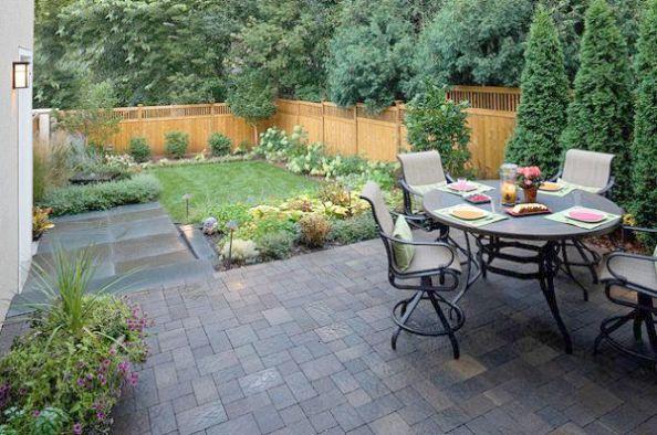 Simple Backyard Landscape Design Ideas Backyard Landscape Design ...