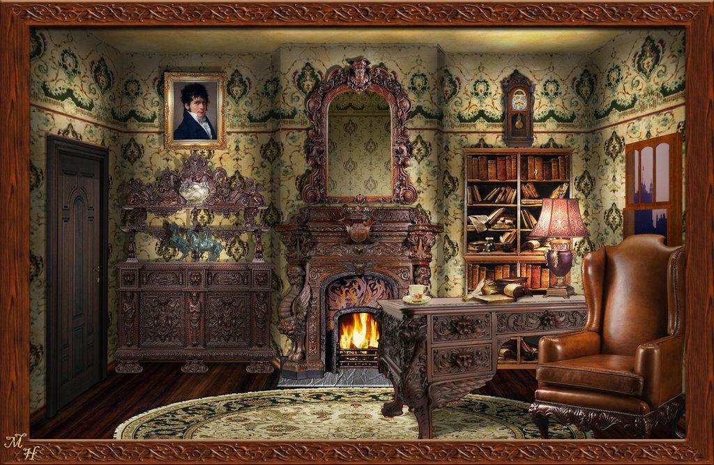 Steampunk Bedrooms Decor, Ideas, Steampunk Bedroom Set, Steampunk Bedroom  Furniture, Steampunk Decorating Ideas, Unique Steampunk Bedroom Wallpaper  ...