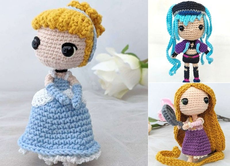 Disney Princess Crochet Kit Amigurumi Unboxing (NEW) - YouTube | 576x800