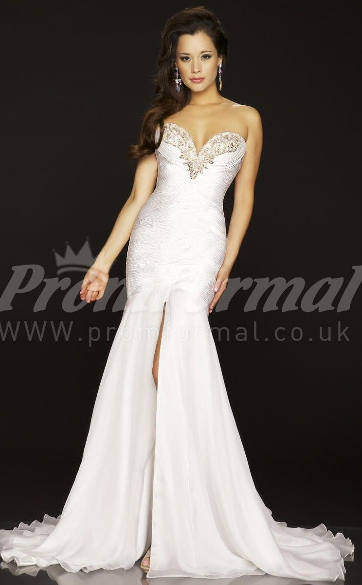 White mermaid prom dresses ΓΑΜΗΛΙΑ ΟΝΕΙΡΑ pinterest white