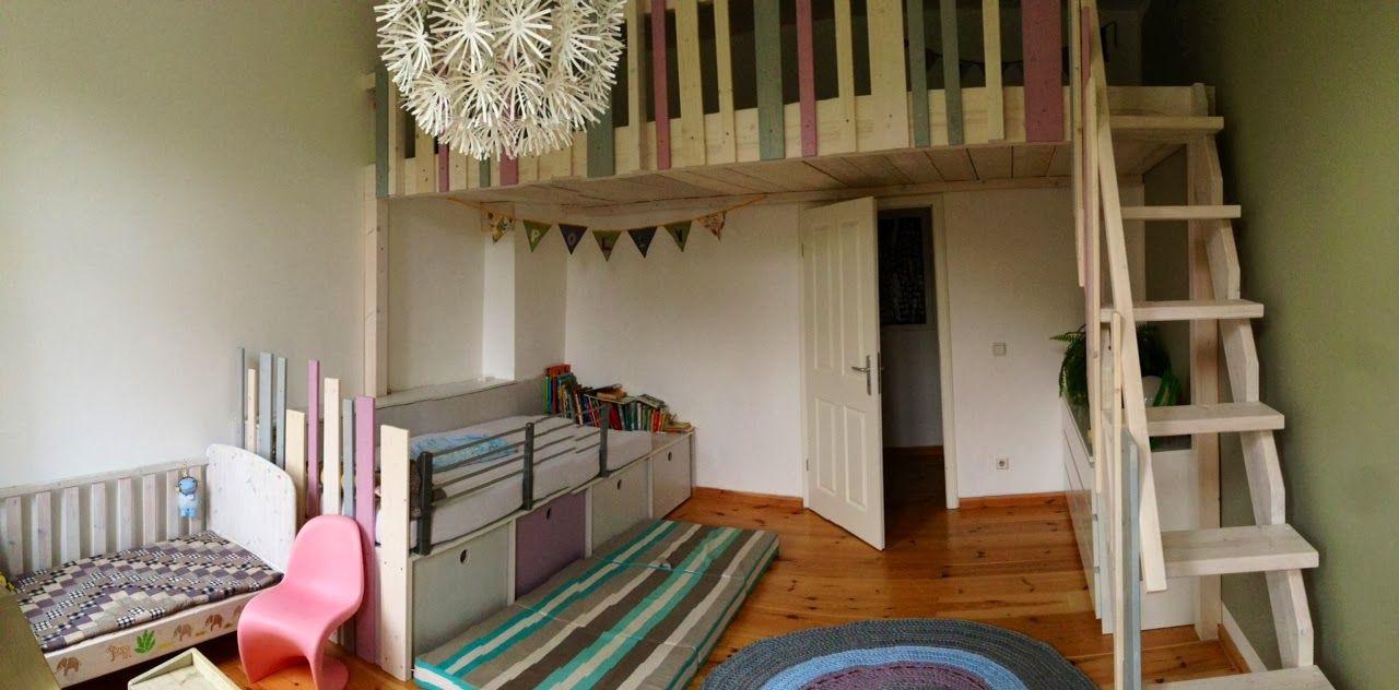 Hochebene Kinderzimmer cama hochbett hochebene galerie nach maß kinderzimmer