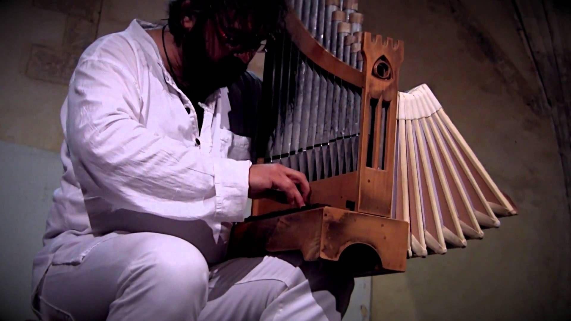 Organetto live • CHRISTOPHE DESLIGNES at Santander festival 2012