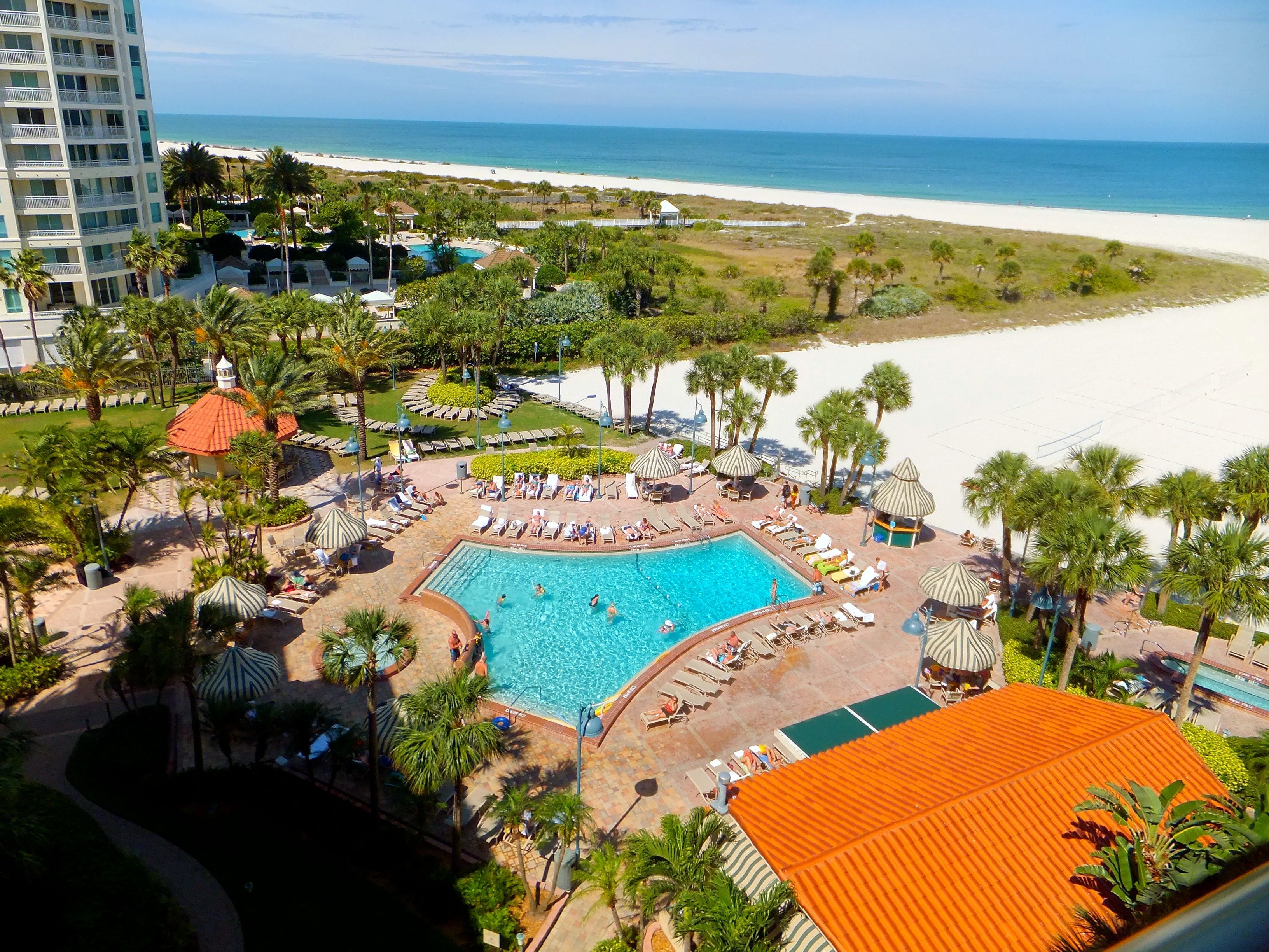 Our Amazing Pool At Beach Sheraton Sand Key Clearwater Www Sheratonsandkey