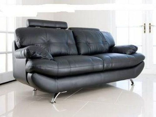 Verona Black Pu Leather 3 2 Seater Sofa Suite