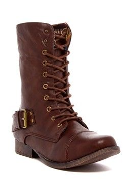 DbDk Fashion by Elegant Kalande Military Boot -- Love these!!