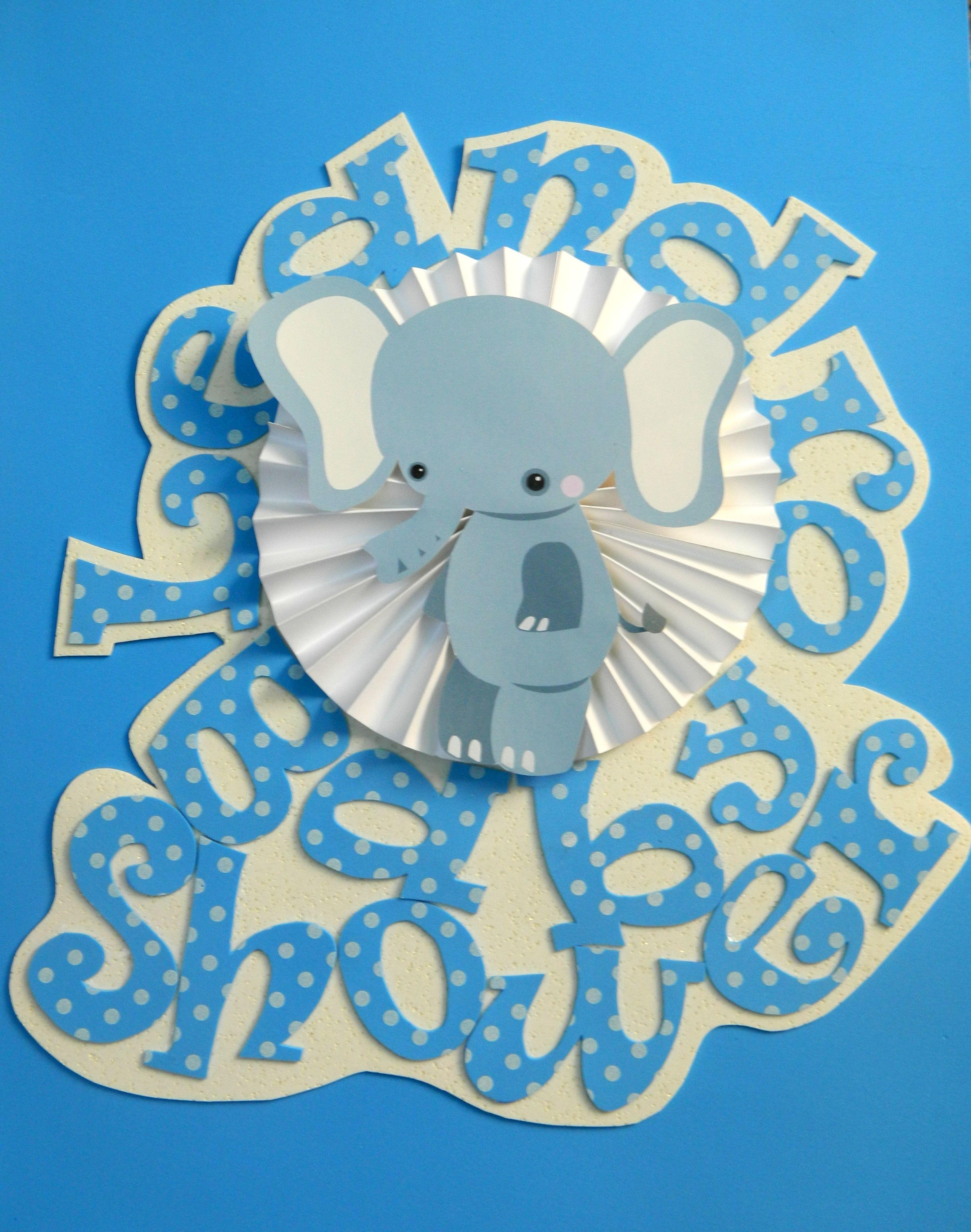 Baby Shower cartel de bienvenida Ciruela Deco