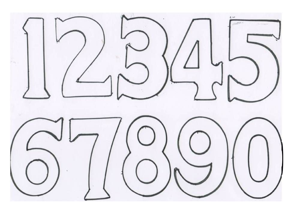 High Numbers Template  I Had A Light Bulb Moment In A BrickA