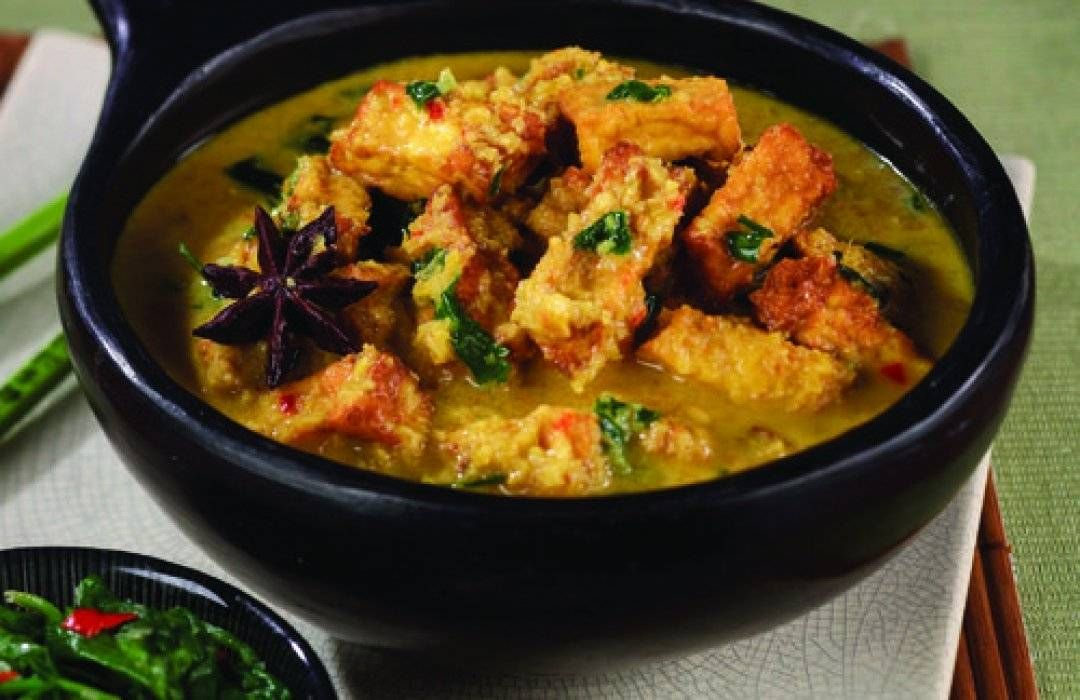 Rendang Malaysian Tofu And Coconut Curry Recipe Curry Recipes