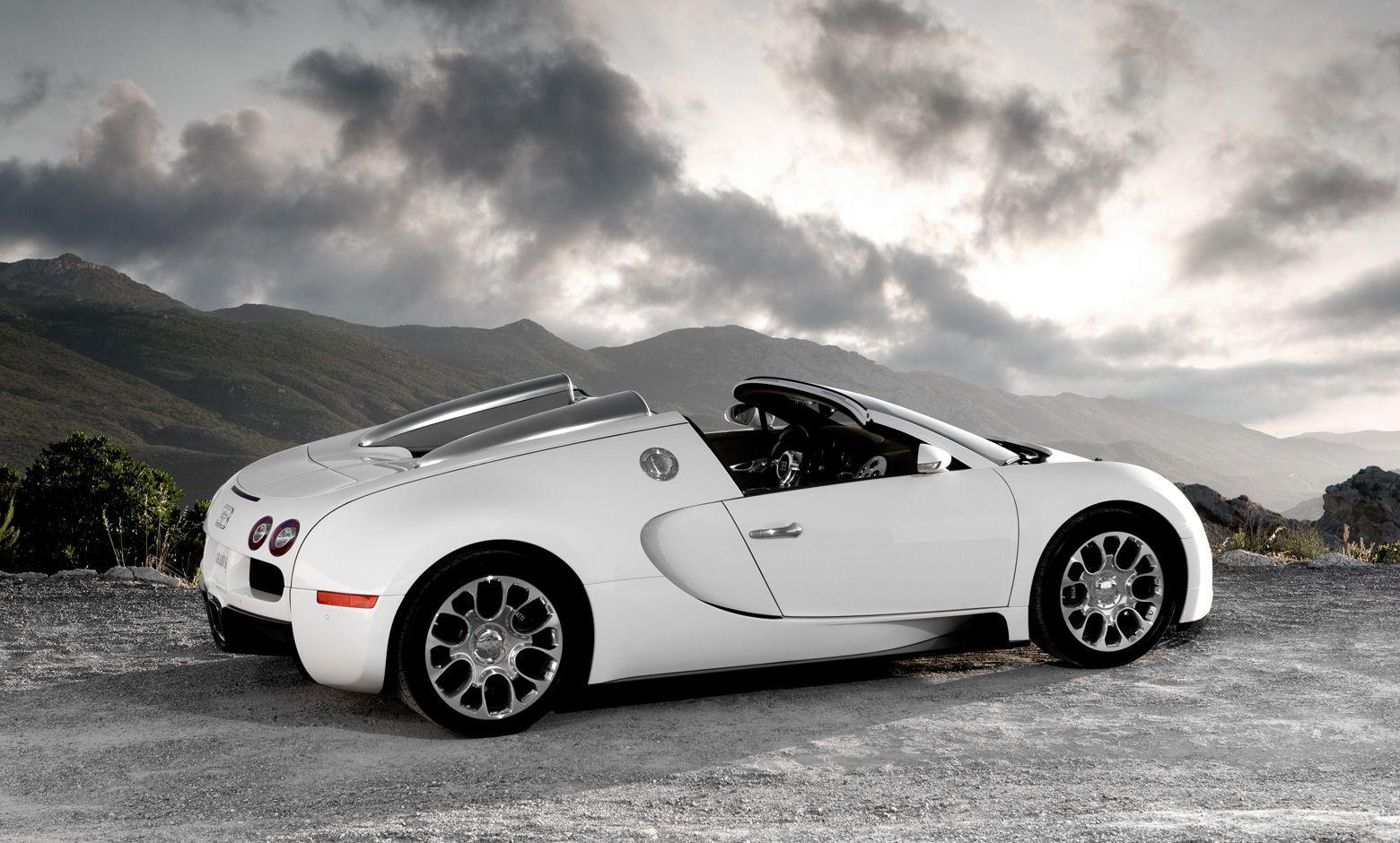 All new Bugatti Veyron in Diamond white colour are now at