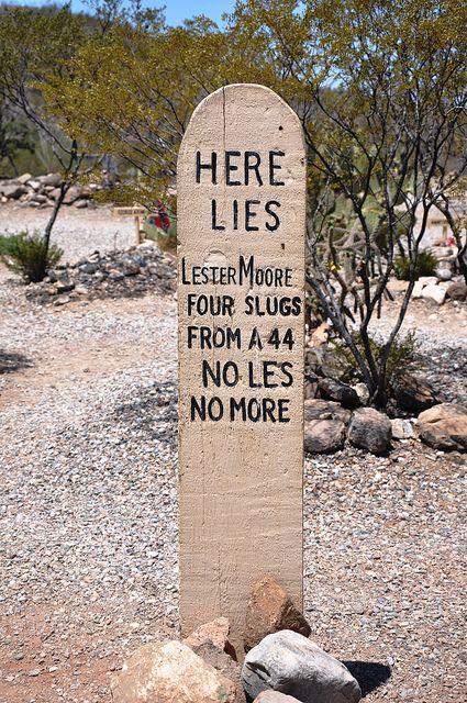Boothill Graveyard Tombstone Az By Rogue Paladin Via