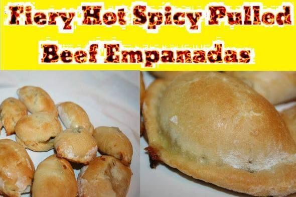 Spicy Pulled Beef Empanadas http://www.momspantrykitchen.com/spicy-pulled-beef-empanadas.html