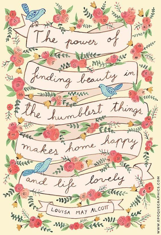 18 Beautiful Illustrated Inspirational Quotes