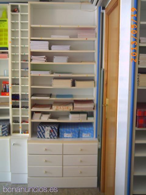 Muebles para libreria para saln foto nuevos muebles for Muebles para papeleria