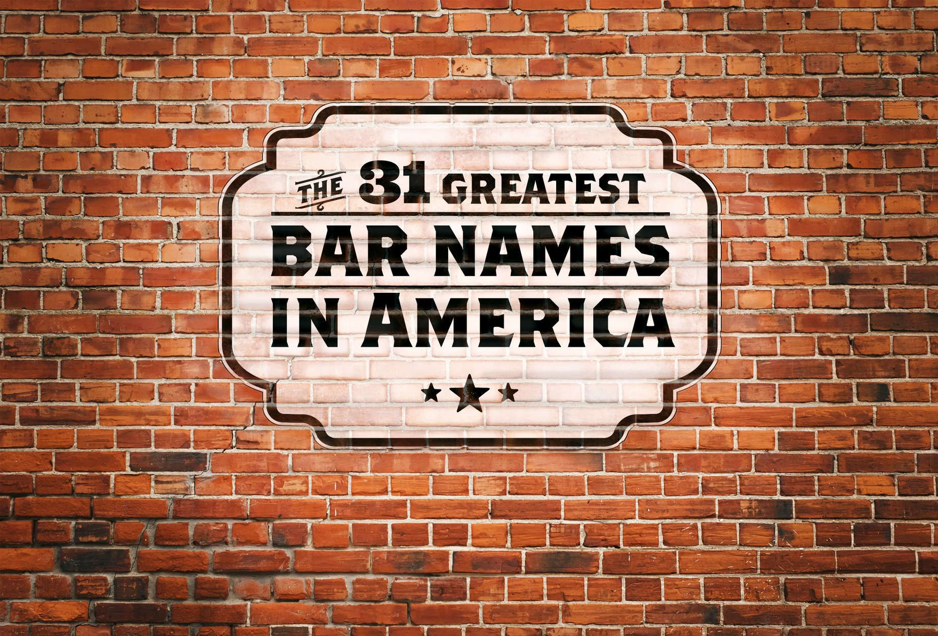The 31 Greatest Bar Names In America Secret Bar Restaurant Names Cool Bars