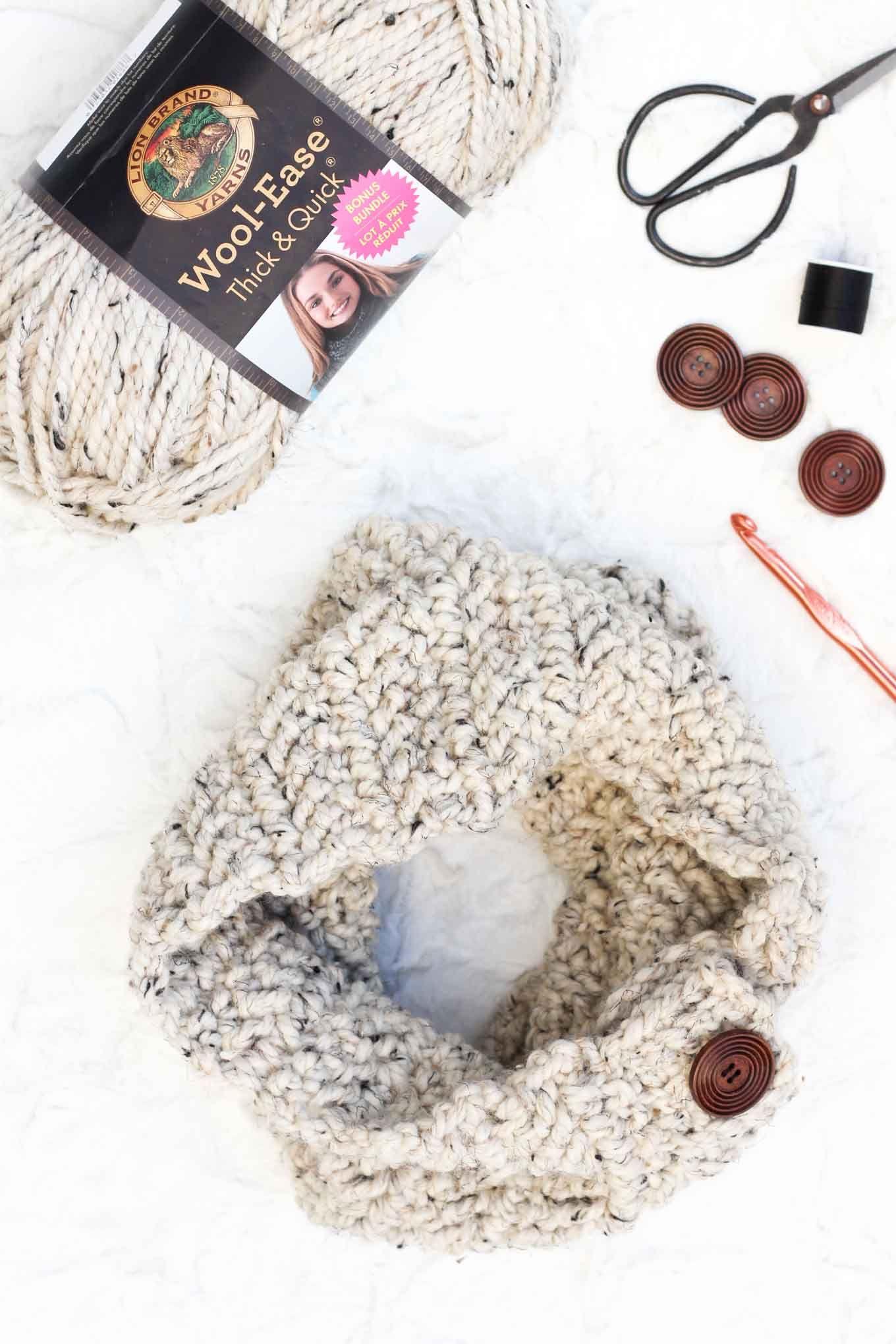 Free Crochet Cowl Pattern: