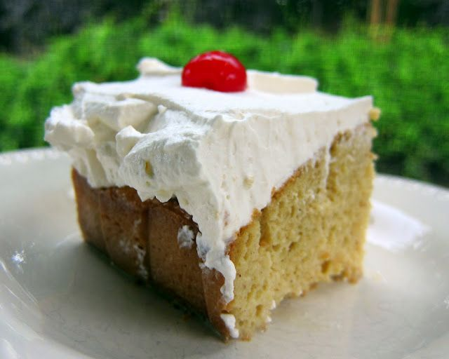 Tres Leche Cake | Plain Chicken