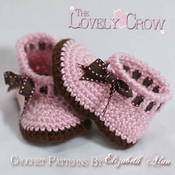 Baby Shoes Crochet Pattern for MY ANGEL BABY bootie digital ...