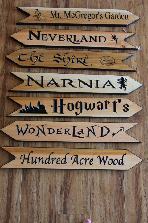 Fantasy Land Arrows Fandom Signs Fantasy Directional