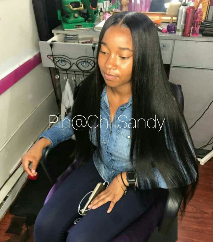 Weave black girls hairstyles with