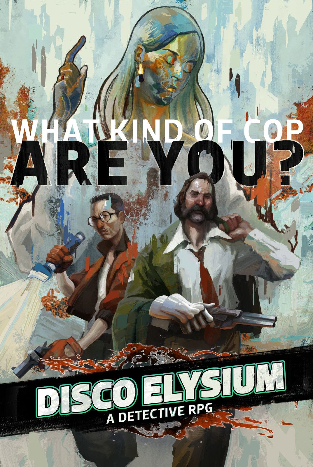 Disco Elysium Cover Art Aleksander Rostov On Artstation At Https Www Artstation Com Artwork Vkeva Cover Art Disco Elysium