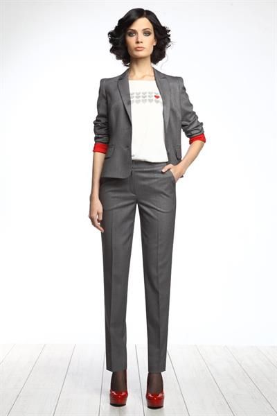 Костюм брючный молодежный деловой   moda   Fashion, Style и Work fashion 9478406ca1c