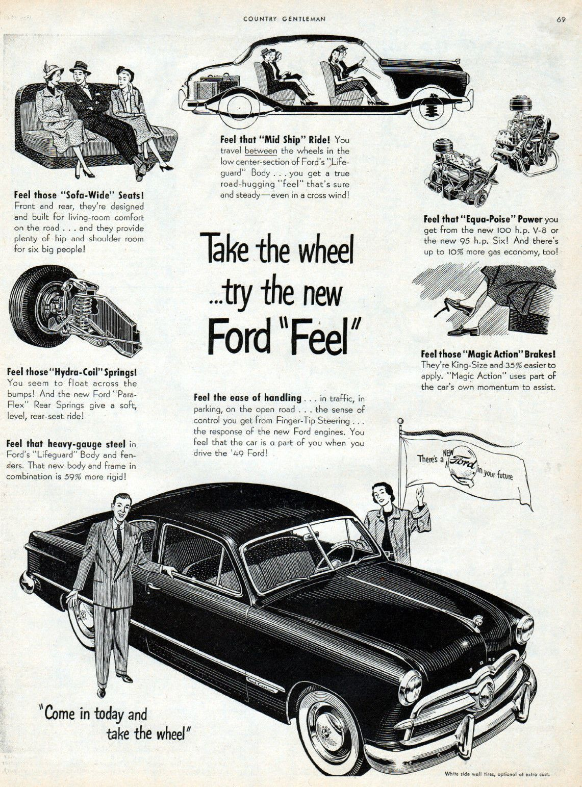 1949 Ford Custom 2-Door Club Coupe. I bought one just like this ...