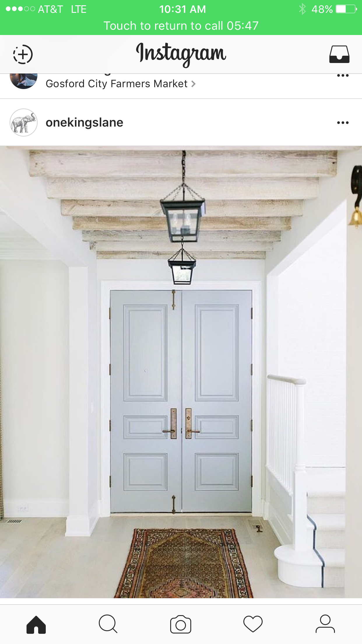 Love this door color. Door color is Cape May Cobblestone by Benjamin Moore  sc 1 st  Pinterest & Pin by Jenny Mayberry on Home   Pinterest   Grand entrance Foyers ...