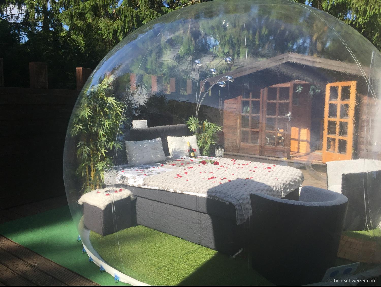 Ubernachtung Im Bubble Hotel Raum Gerolstein Fur 2 In 2019