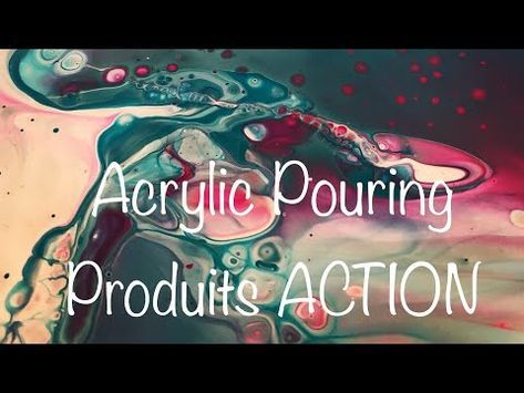 Acrylic pouring 29 – Produits de chez ACTION