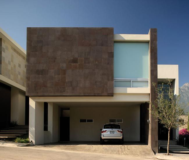 Fachadas modernas de casas fachadas pinterest for Fachadas pisos modernas