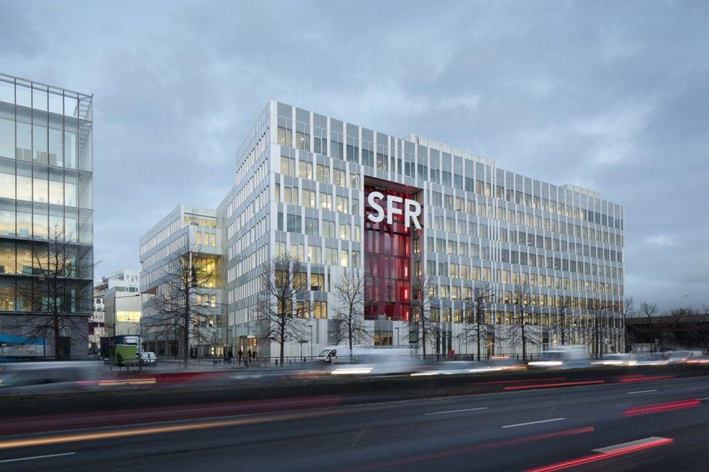 SFR Headquarters; Saint-Denis, France - Jean-Paul Viguier et Associés