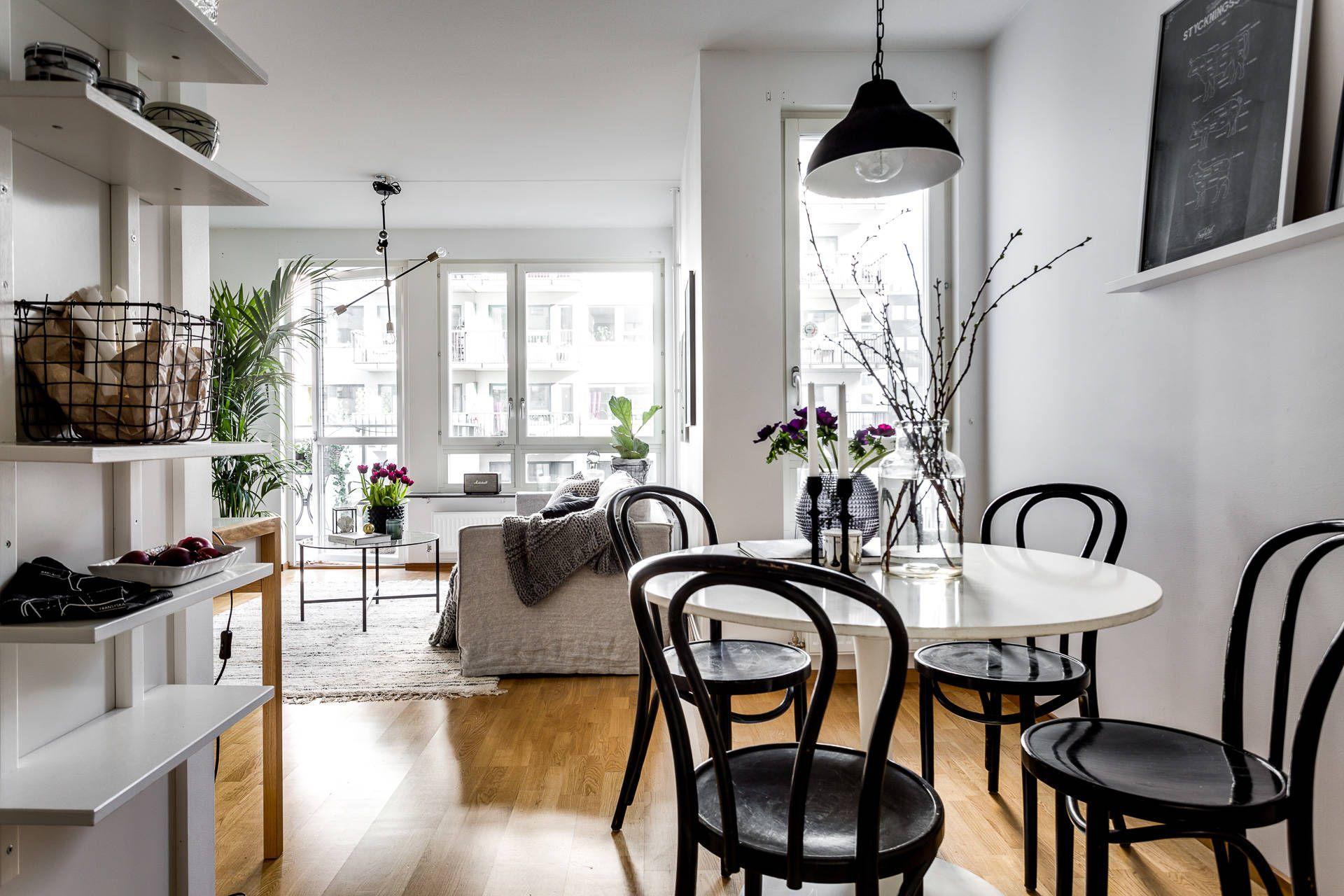 ikea 39 docksta 39 dining table id er till nya l genheten pinterest k k inredning och. Black Bedroom Furniture Sets. Home Design Ideas