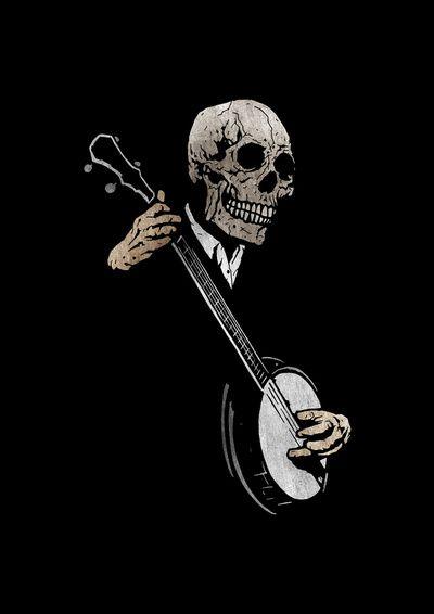 Skullboys' Banjo Blues iPhone 11 case
