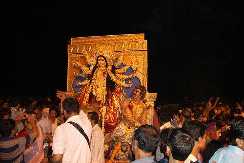 Durgas Return Journey ..