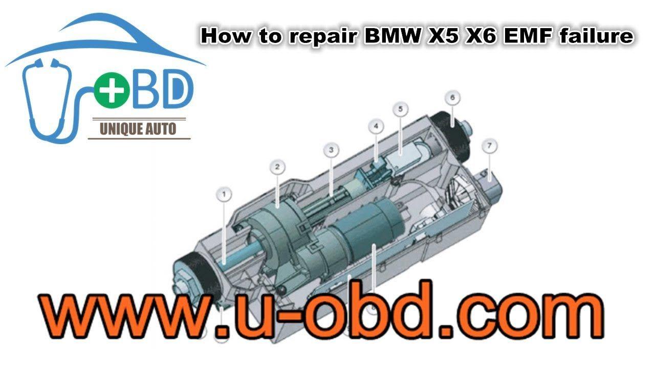 How To Repair Bmw X5 X6 Emf Failure Electrical Park Brake Epb Repair