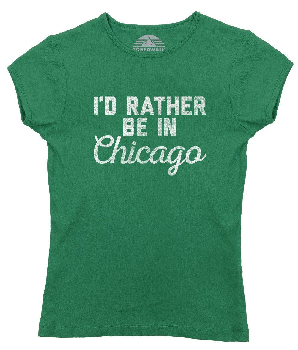 Do you love Chicago? Enjoy strolling through the hipster laden streets of Logan Square, partaking in the occasional Chicago Cubs game, or spending a day at Millennium Park or Navy Pier? This cool tshirt lets everyone know,