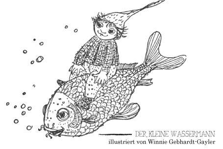 Malvorlage Wassermann