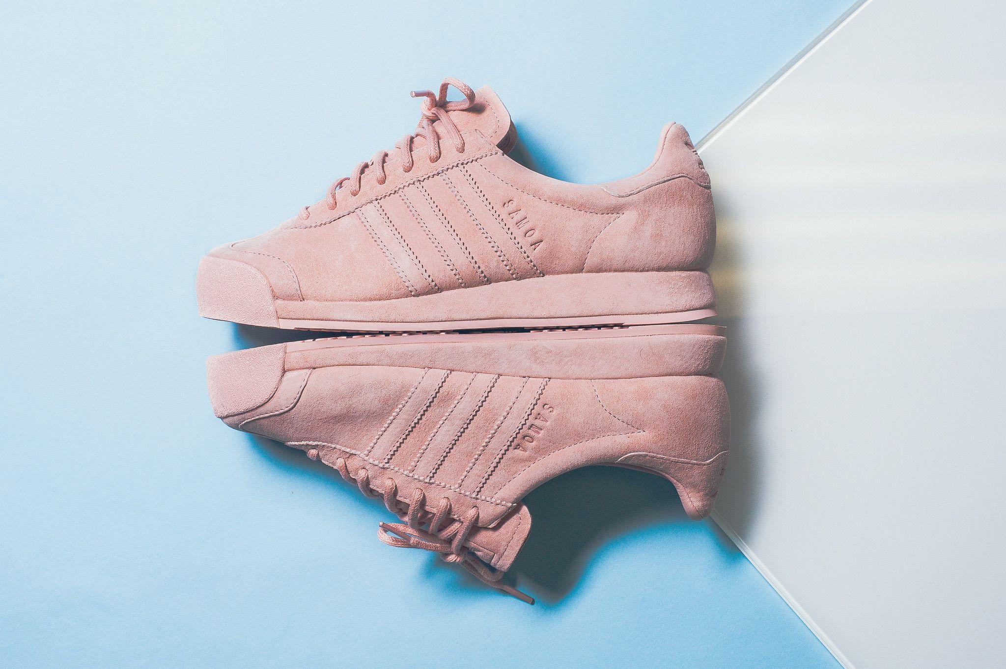 adidas samoa femme rose