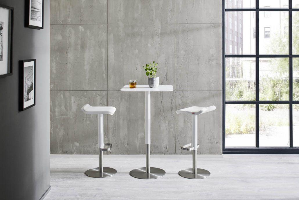 Stehtisch ED von moree, Designstehtisch für Zuhause und Gastronomie - küche mit bar
